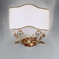 бра Nervilamp A 4/2 Gold Leaf Shade