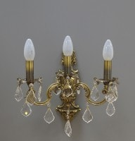 бра Nervilamp 920/3A Bronz Gold Crystal